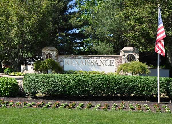 Renaissance at monroe entrance