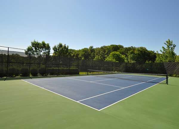 Renaissance at Monroe Tennis court activities